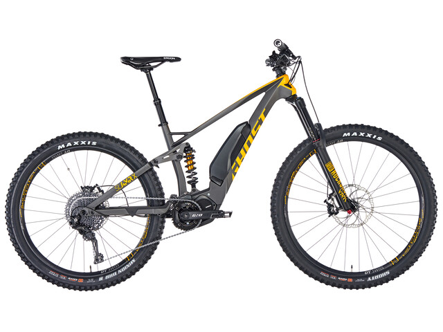 "Ghost Hybride SL AMR X S5.7+ LC 29/27,5+"" E-Bike grijs/zwart"